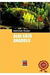 Elips Kitapları - Aldı Sözü Anadolu Elips Kitapları