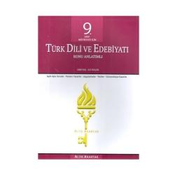 Altın Anahtar Yayınları - Altın Anahtar Yayınları 9. Sınıf Türk Dili ve Edebiyatı Konu Anlatımlı Uygulamalı
