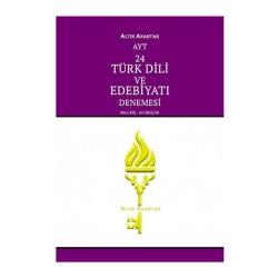 Altın Anahtar Yayınları - Altın Anahtar Yayınları AYT Türk Dili ve Edebiyatı 24 Deneme