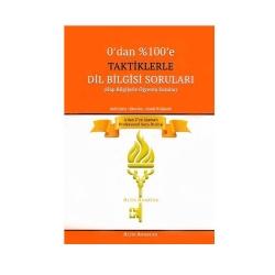 Altın Anahtar Yayınları - Altın Anahtar Yayınları Taktiklerle Dil Bilgisi Soruları