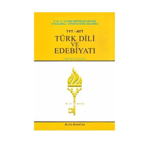 Altın Anahtar Yayınları TYT AYT Türk Dili ve Edebiyatı Konu Anlatımlı