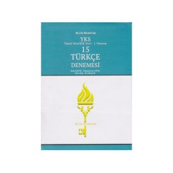 Altın Anahtar Yayınları - Altın Anahtar Yayınları YKS 1. Oturum TYT 15 Türkçe Denemesi