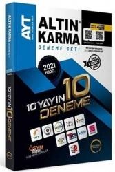Altın Karma - Altın Karma 2021 AYT 10 Farklı Yayın 10 Farklı Deneme