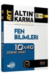 Altın Karma - Altın Karma AYT Fen Bilimleri 10x40 Deneme Sınavı