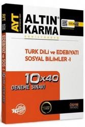 Altın Karma - Altın Karma AYT Türk Dili ve Edebiyatı Sosyal Bilimler 10x40 Deneme Sınavı
