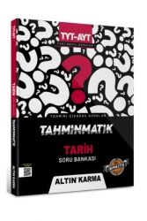 Altın Karma - Altın Karma Yayınları 2022 TYT AYT Tarih Tahminmatik Soru Bankası