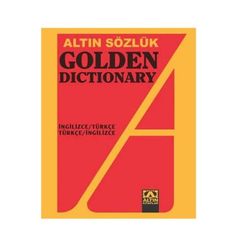 Altın Kitaplar Yayınevi Golden Dictionary İngilizce Türkçe - Türkçe İngilizce Sözlük