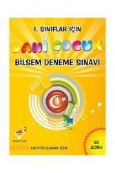 Altın Nokta Yayınları - Altın Nokta Yayınları 1. Sınıflar İçin Dahi Çocuk Bilsem Deneme Sınavı