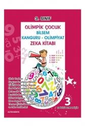Altın Nokta Yayınları - Altın Nokta Yayınları 3. Sınıf Olimpik Çocuk Bilsem Kanguru Olimpiyat Zeka Kitabı Tamamı Çözümlü