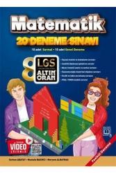 Borealis Yayıncılık - Altın Oran 8. Sınıf LGS Matematik Tamamı Video Çözümlü 20 Deneme