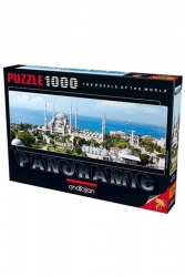 Anatolian - Anatolian Puzzle 1000 Parça Panoramik Sultanahmet Cami