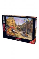 Anatolian - Anatolian Puzzle 1500 Parça Paris Sokakları