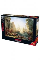 Anatolian - Anatolian Puzzle 3000 Parça Liman