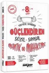 Ankara Yayıncılık - Ankara Yayıncılık 8. Sınıf Sözel-Sayısal Mantık ve Muhakeme Güçlendiren Soru Bankası