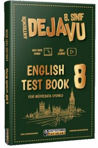 Antrenör Yayınları 8. Sınıf English Dejavu Test Book