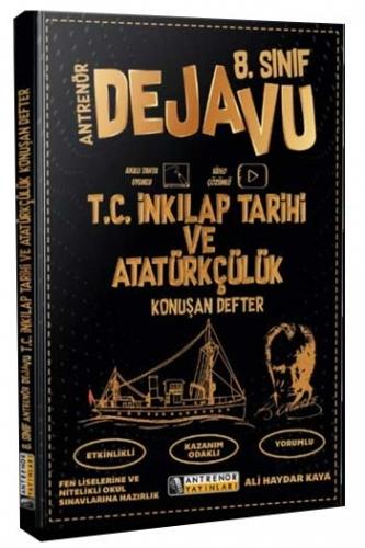 Antrenör Yayınları 8. Sınıf T.C. İnkılap Tarihi ve Atatürkçülük Konuşan Defter