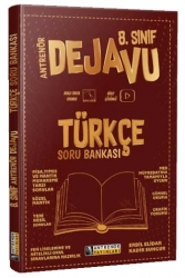 Antrenör Yayınları - Antrenör Yayınları 8. Sınıf Türkçe Dejavu Soru Bankası