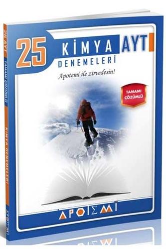 Apotemi Yayınları AYT Kimya Tamamı Çözümlü 25'li Denemeleri