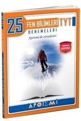 Apotemi Yayınları - Apotemi Yayınları TYT Fen Bilimleri Tamamı Çözümlü 25'li Denemeleri