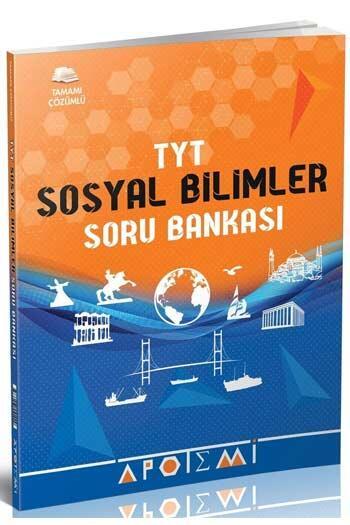 Apotemi Yayınları - Apotemi Yayınları TYT Sosyal Bilimler Tamamı Çözümlü Soru Bankası