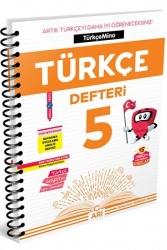 Arı Yayınları - Arı Yayıncılık 5. Sınıf Türkçemino Türkçe Defteri