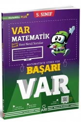 Arı Yayınları - Arı Yayıncılık 5. Sınıf VAR Matematik Yeni Nesil Soru Bankası