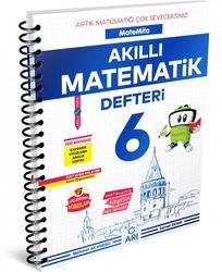 Arı Yayıncılık - Arı Yayıncılık 6. Sınıf Matemito Akıllı Matematik Defteri