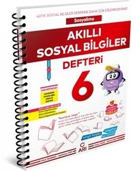 Arı Yayınları - Arı Yayıncılık 6. Sınıf Sosyalimo Akıllı Sosyal Bilgiler Defteri