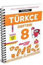 Arı Yayınları - Arı Yayıncılık 8. Sınıf LGS Türkçemino Türkçe Defteri