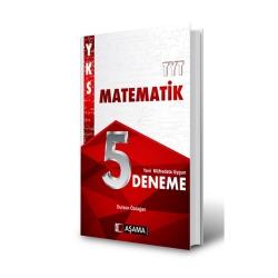 Aşama Yayınları - Aşama Yayınları TYT Matematik 5 Deneme