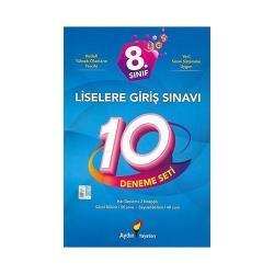 Aydın Yayınları - Aydın Yayınları 8. Sınıf LGS Deneme Seti