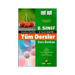 Aydın Yayınları - Aydın Yayınları 8. Sınıf Tüm Dersler Soru Bankası
