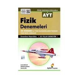 Aydın Yayınları - Aydın Yayınları AYT Fizik 30 lu Denemeleri