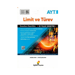 Aydın Yayınları - Aydın Yayınları AYT Limit ve Türev