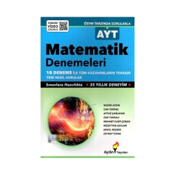 Aydın Yayınları - Aydın Yayınları AYT Matematik Denemeleri