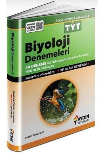 Aydın Yayınları - Aydın Yayınları TYT Biyoloji Tamamı Video Çözümlü Denemeleri
