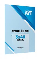 Marka Yayınları - AYT Fen Bilimleri 3x40 Deneme Marka Yayınları