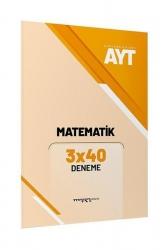 Marka Yayınları - AYT Matematik 3x40 Deneme Marka Yayınları