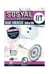 Bilgi Sarmal Yayınları - AYT Sosyal Bilimler 1 Branş Denemeleri Bilgi Sarmal Yayınları