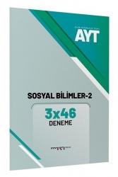 Marka Yayınları - AYT Sosyal Bilimler 2 3x46 Deneme Marka Yayınları