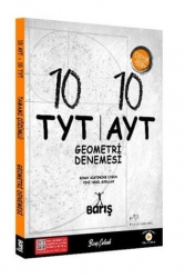 Barış Çelenk Yayınları - Barış Çelenk Yayınları 2021 10X10 TYT AYT Geometri Denemesi