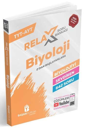 Başarıyorum Yayınları - Başarıyorum Yayınları TYT AYT Biyoloji Relax Soru Bankası