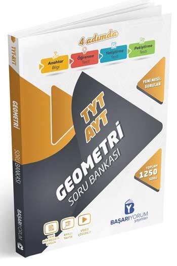 Başarıyorum Yayınları - Başarıyorum Yayınları TYT AYT Geometri 4 Adımda Soru Bankası