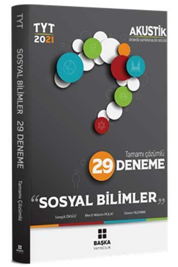 Başka Yayınları - Başka Yayıncılık 2021 TYT Sosyal Bilimler Akustik Tamamı Çözümlü 29 Deneme