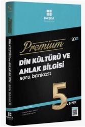 Başka Yayınları - Başka Yayıncılık 5. Sınıf Din Kültürü ve Ahlak Bilgisi Premium Soru Bankası