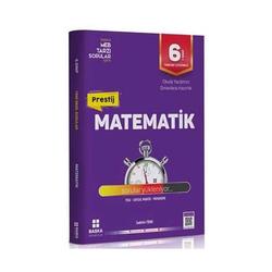Başka Yayınları - Başka Yayıncılık 6. Sınıf Prestij Matematik Soru Bankası