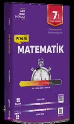 Başka Yayınları - Başka Yayıncılık 7. Sınıf Matematik Prestij Yeni Nesil Soru Bankası