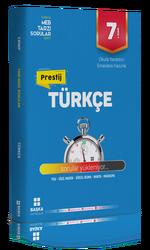 Başka Yayınları - Başka Yayıncılık 7. Sınıf Türkçe Prestij Yeni Nesil Soru Bankası
