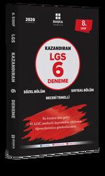 Başka Yayınları - Başka Yayıncılık 8. Sınıf LGS Kazandıran 6 Deneme