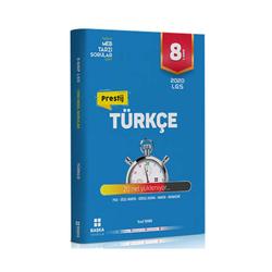 Başka Yayınları - Başka Yayıncılık 8. Sınıf LGS Prestij Türkçe Soru Bankası